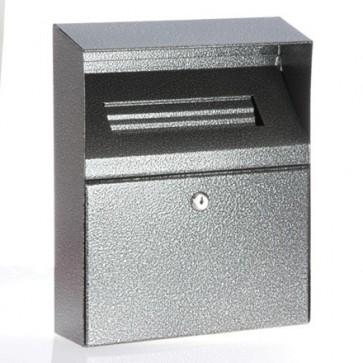 BDW09 Linpure Wall Mounted Cigarette Bin (Silver)