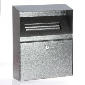 Linpure Wall Bin - Antique Silver (BDW09)