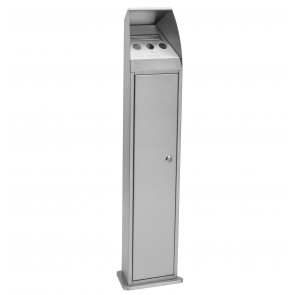 Heavy Duty Ash Bin - Stainless Steel