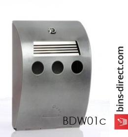 BDW01c - Compact Ash Curve Cigarette Bin