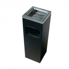Square Top Ash & Litter Bin (BDF44)