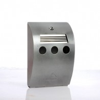 Compact Wall Mounted Outdoor Ashtray (BDW01C)